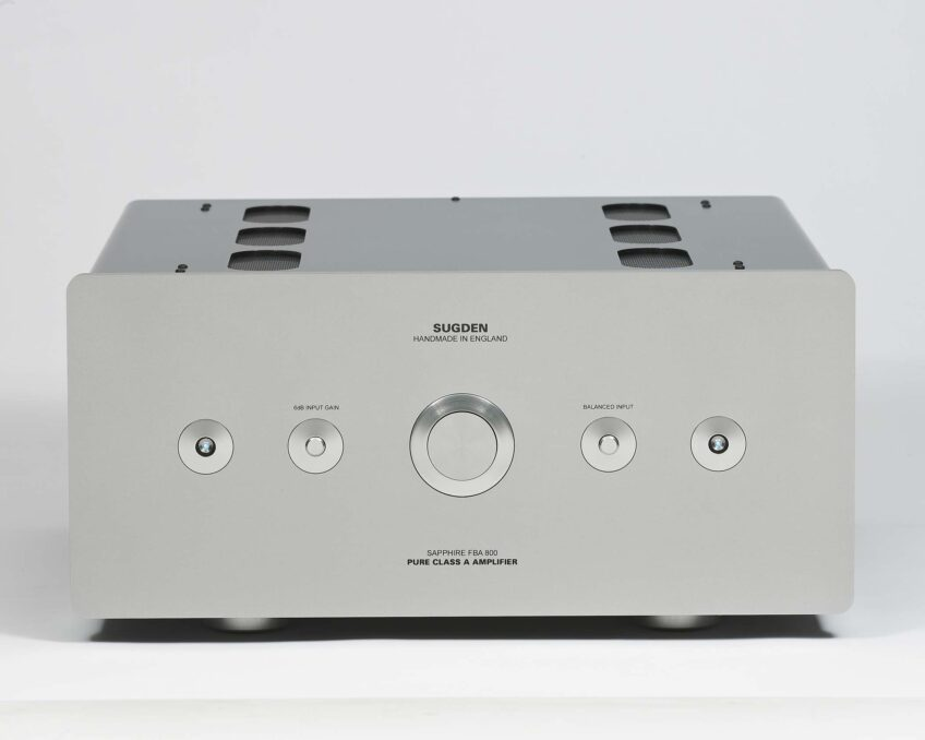 > Sugden Audio Sapphire FBA-800 Floating Bridge Pure Class 'A' Stereo Power Amplifier