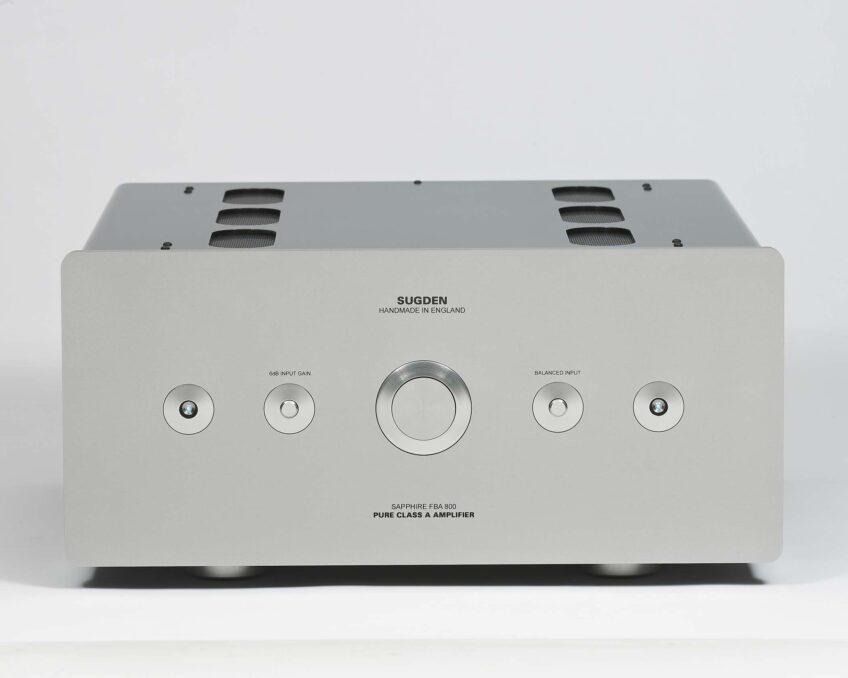 > Sugden Audio Sapphire FBA-800 Floating Bridge Pure Class 'A' Stereo Power Amplifier
