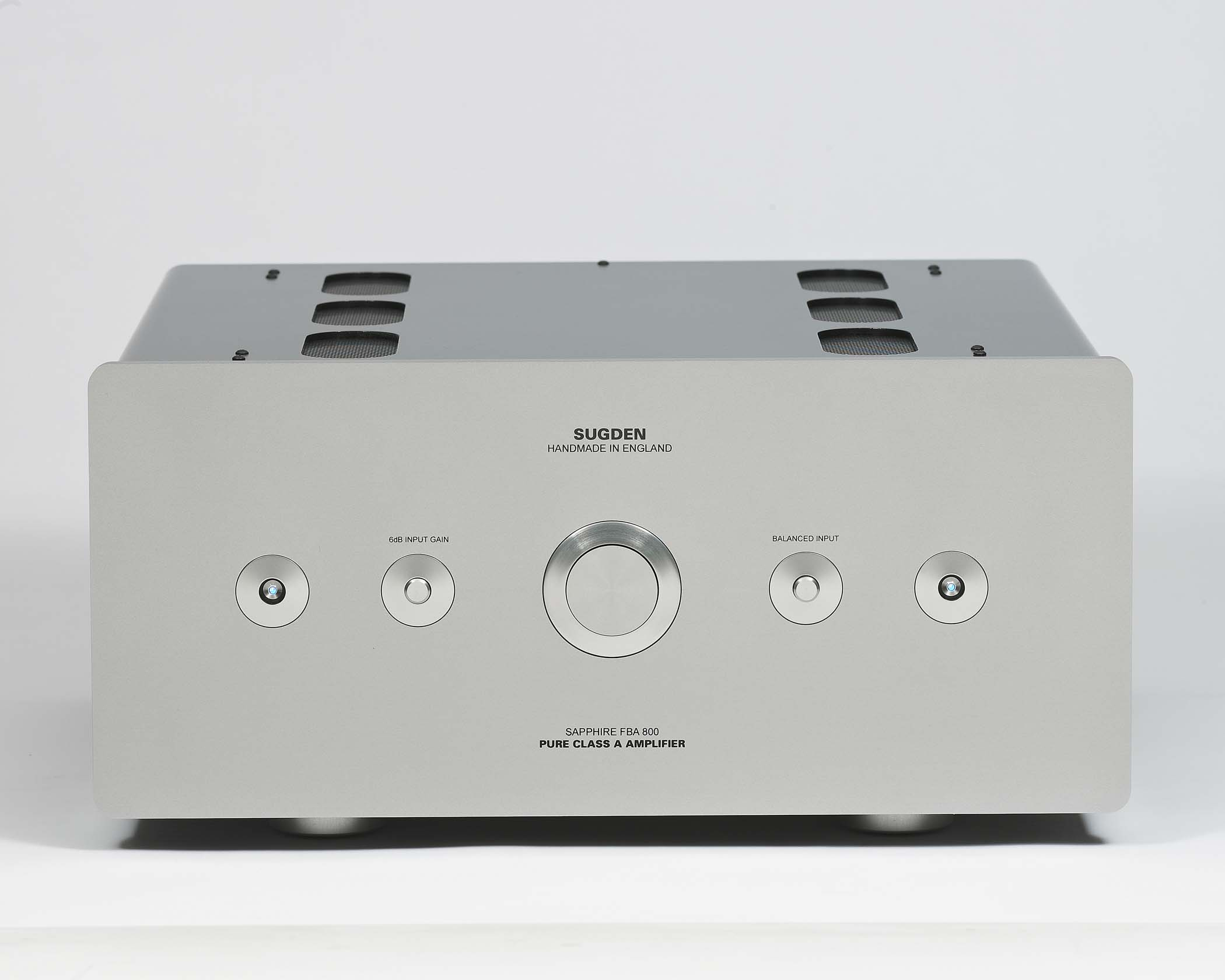 Sugden Audio Sapphire Fba 800 Floating Bridge Pure Class A Stereo Power Amplifiers Saphire 01 Amplifier